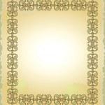 Vintage frame — 图库矢量图片 #1488074