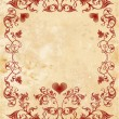 Vinage valentines day card — Stockvector #1523757