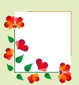 Floral designe — Vecteur