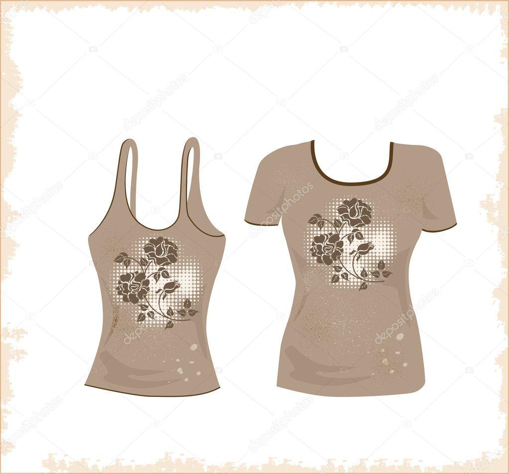 T shirt design stock vector sannare 2044826 for Stock t shirt designs