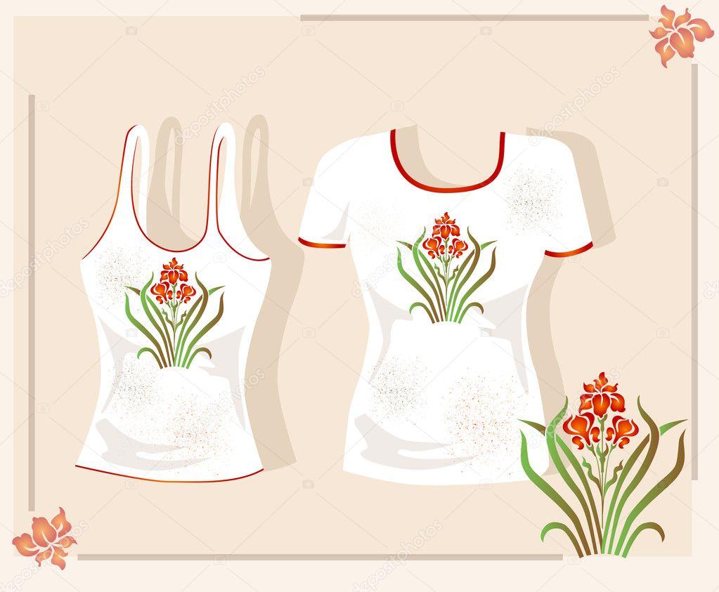 T shirt design stock vector sannare 2044859 for Stock t shirt designs