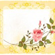 Royalty-Free Stock Imagem Vetorial: Vintage greeting card