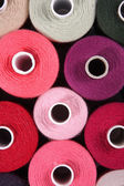 Thread spools — Stockfoto