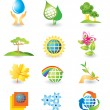 Royalty-Free Stock 矢量图片: Set of nature design elements