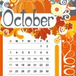Royalty-Free Stock Imagem Vetorial: October