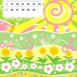 April — Vector de stock #1234497
