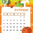 October — Stock Vector #1236774