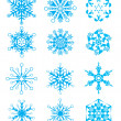 Vector snowflakes — Stock Vector #1237078