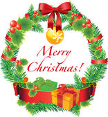 Vector decoratie van kerstmis — Stockvector