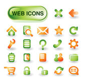 Web icon set vector — Vetor de Stock