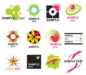Set elements for design — Stock Vector