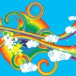 Rainbow - Stock Vector