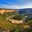 River canyon in Provence. — Stock Photo