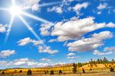 The huge sky. — Stock Photo
