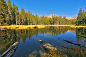 Beautiful lake in Josemite park — Stock Photo