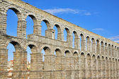 The ancient Segovia in May day — Stock Photo