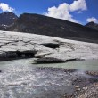 Enormous thawing glacier. - Photo