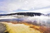 湖の上の霧 — ストック写真