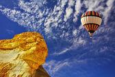 Chimera and balloon — Stock Photo