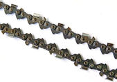 Chain from saw — Stockfoto