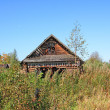 Old wooden house - 图库照片