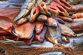 Smoked fish — Stockfoto
