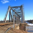 Railway bridge - Foto Stock