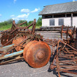 Stock Photo: Old agricultural mechanisms
