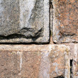 Aging stone wall — Stock Photo