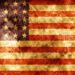 Grunge american flag — Stock Photo #1239382