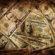 Grunge Money Background — Stock Photo #1247480