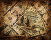 Grunge Money Background — Stock Photo