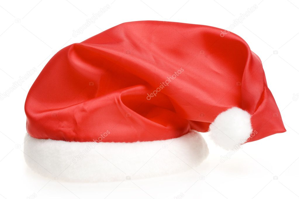 Santa's red hat — Stock Photo #1244122