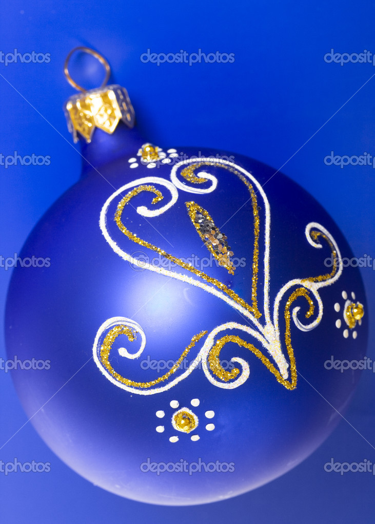 Christmas decoration ball — Stock Photo #1244146