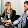 Business in the workplace. — Stock Photo