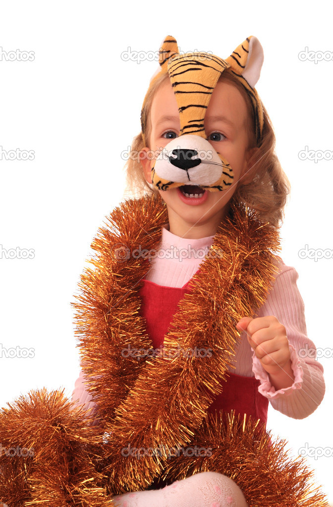 On an east calendar 2010 - year of tiger. — Stock Photo #1232980