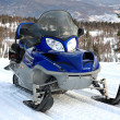 Snowmobile. - Stock Photo