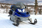 Snowmobile. — Stock Photo