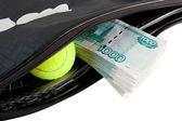 Tennis - expensive sport. — Stock Photo