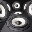 Stock Photo: Acoustics systems