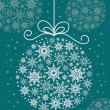Royalty-Free Stock Vektorfiler: Christmas decorative ball