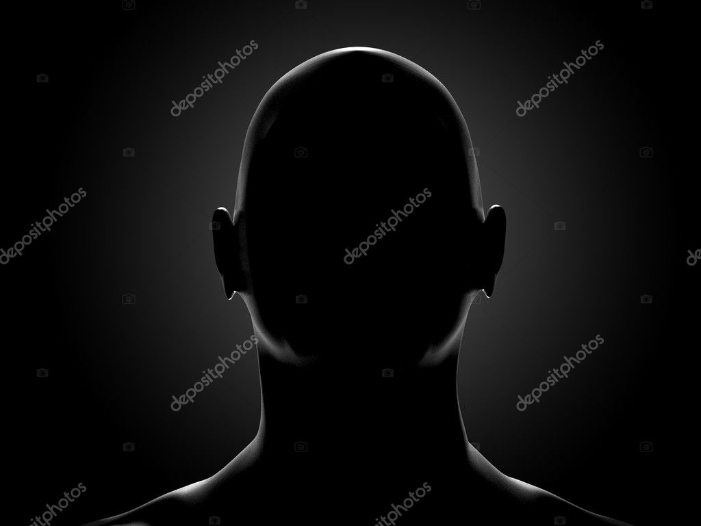 Human head — Stock Photo #1230090