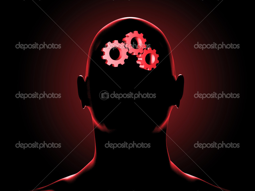 Human brain — Stock Photo #1230117
