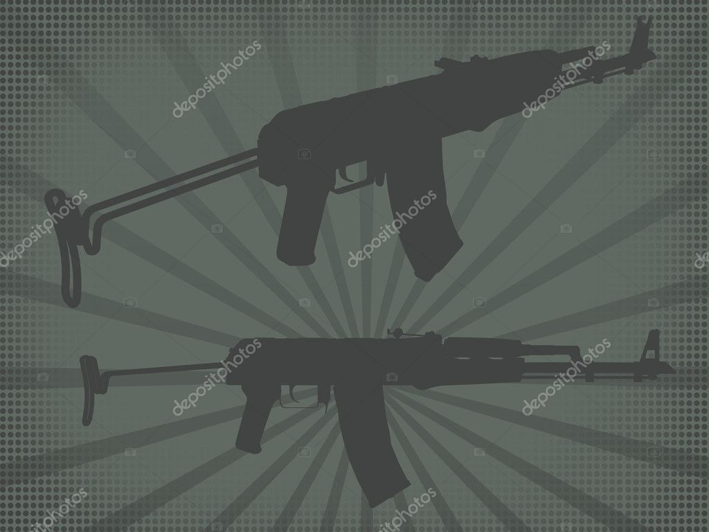 Shoot rifle — Stock Photo #1230634