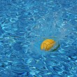Ball on water — Stock Photo #1247466