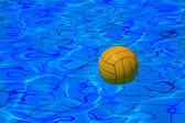 Ball on water — Stock Photo