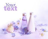 Perfume background — Stock Photo