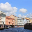 Stock Photo: View of St. Petersburg,