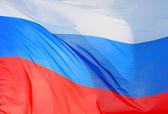 Russian Flag — Stock Photo