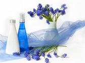 Cosmetic background — Stock Photo